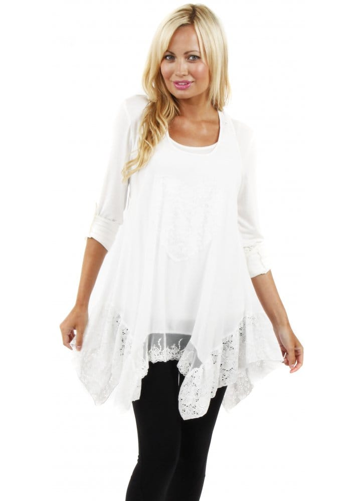 Free shipping and returns on Women's Tunic Length Tops at pxtube.gq