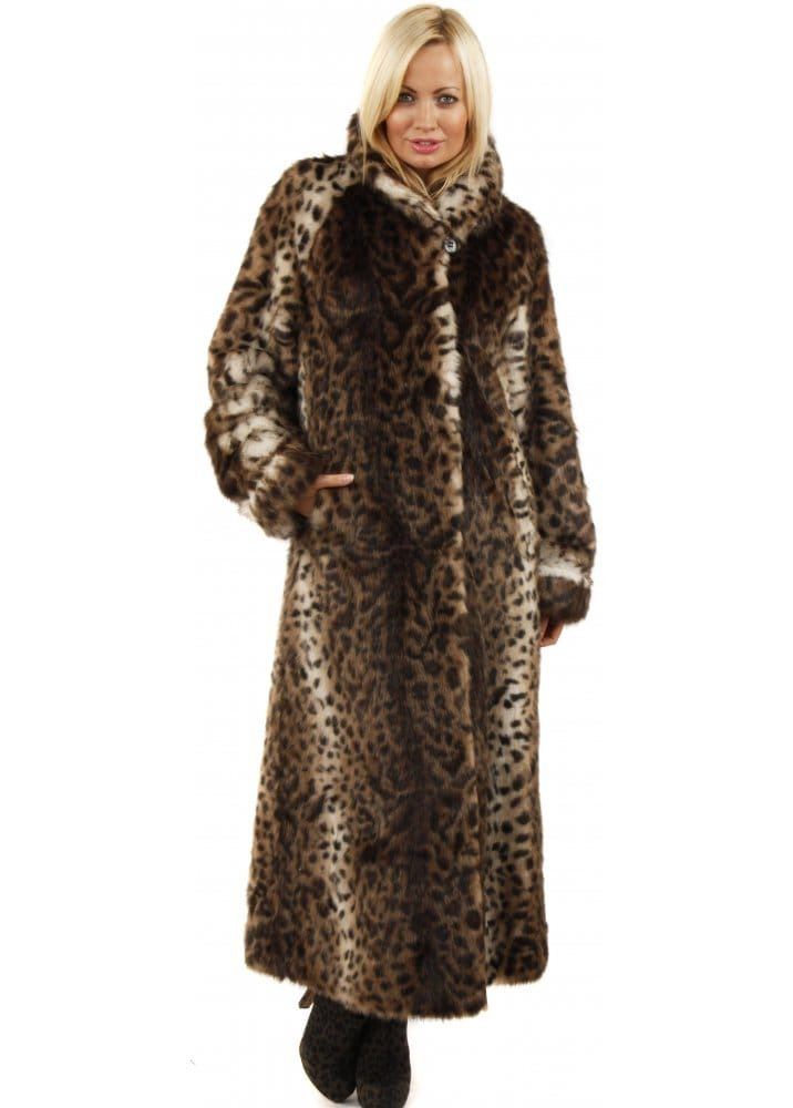 Collection Long Fur Coat Pictures - Reikian