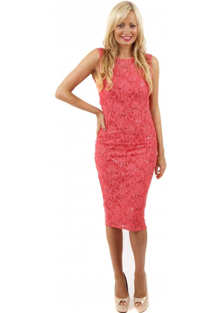 lace midi dress - photo #42