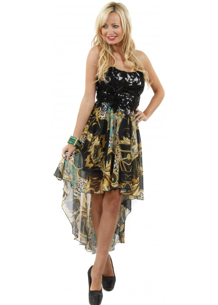 Party 21 dress party 21 black silk bustier dress party for Waterfall design dress