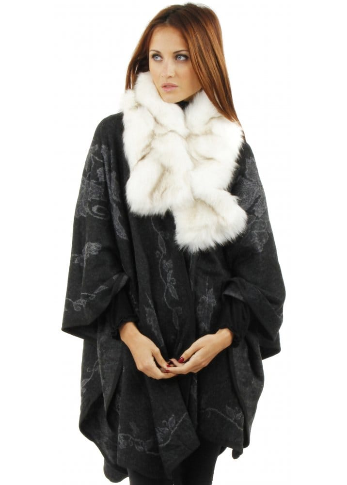 Faux Fur White Scarf Faux Fur Accessories Faux Fur Scarf