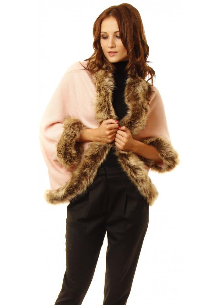 Pink faux fur bolero pink bolero faux fur bolero for Designer bolero