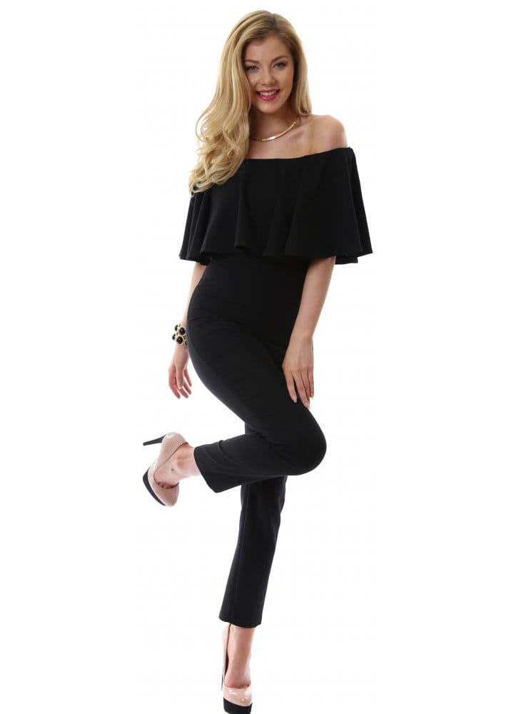 Find great deals on eBay for black off the shoulder jumpsuit. Shop with confidence.