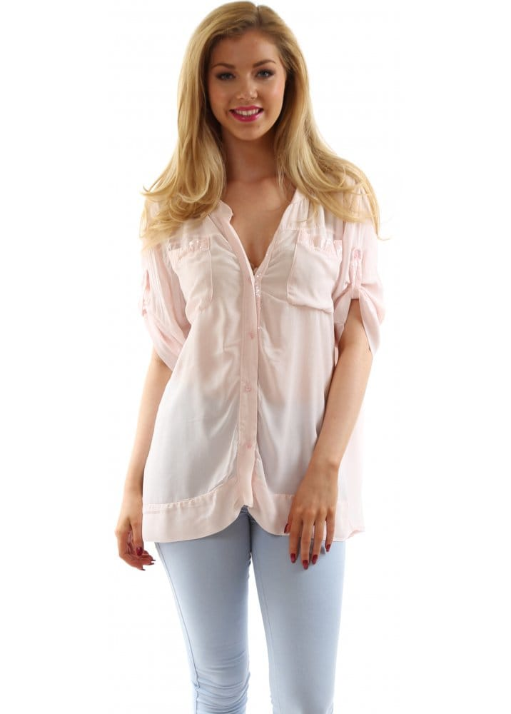 Pink Chiffon Blouses. invalid category id Blouses. Showing 16 of 16 results that match your query. Search Product Result. Product - Women Polka Dot Shirt with Knitted Top Blouse. Product Image. Price $ Product Title. Women We focused on the bestselling products customers like you want most in categories like Baby, Clothing.
