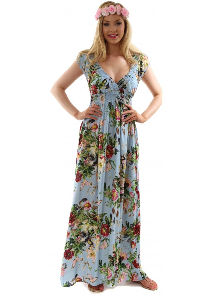 Stella Morgan Maxi Dress Stella Morgan Floral Boho