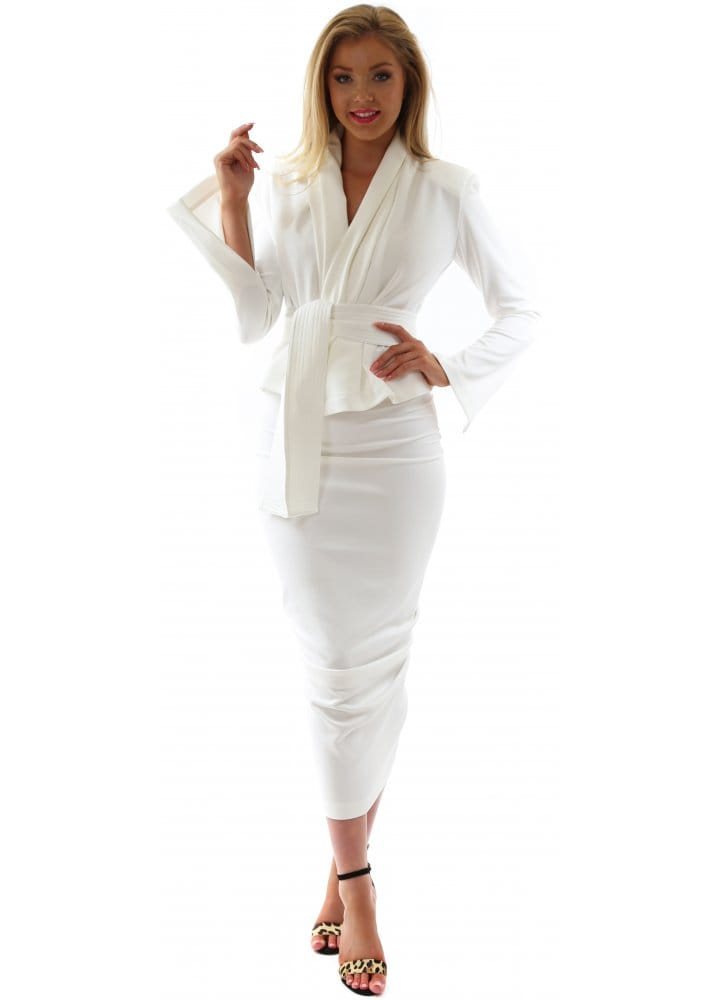 Kevan Jon | White Designer Suit | Kevan Jon Fashion