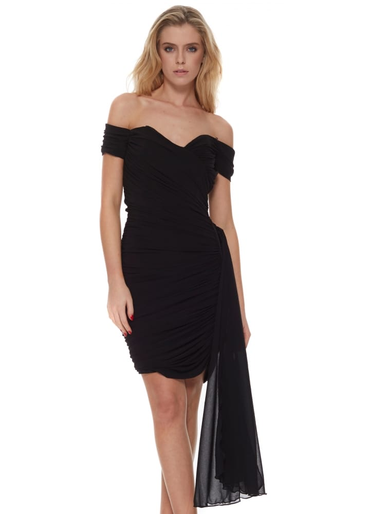 The Little Black Dress Diana Dress Off The Shoulder With