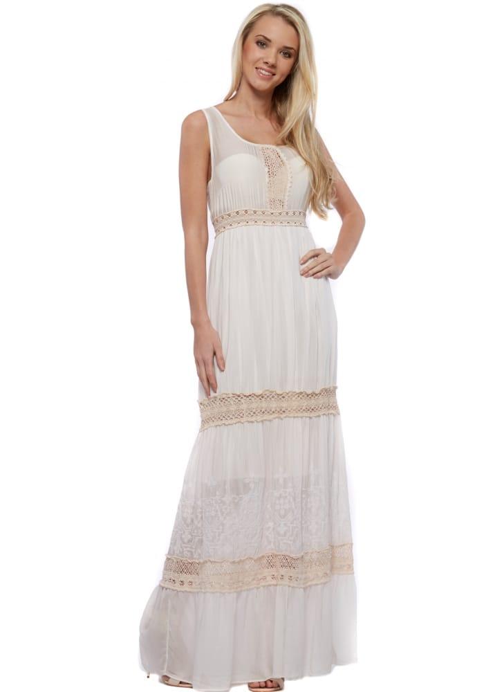 72362e1d95f Monton Pink Maxi Dress - Pink Summer Boho Maxi Dress