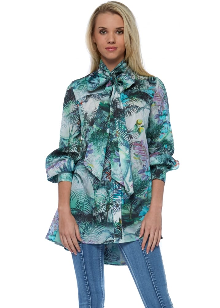 Rebecca Rhoades Penny Blouse Rebecca Rhoades Green Shirt