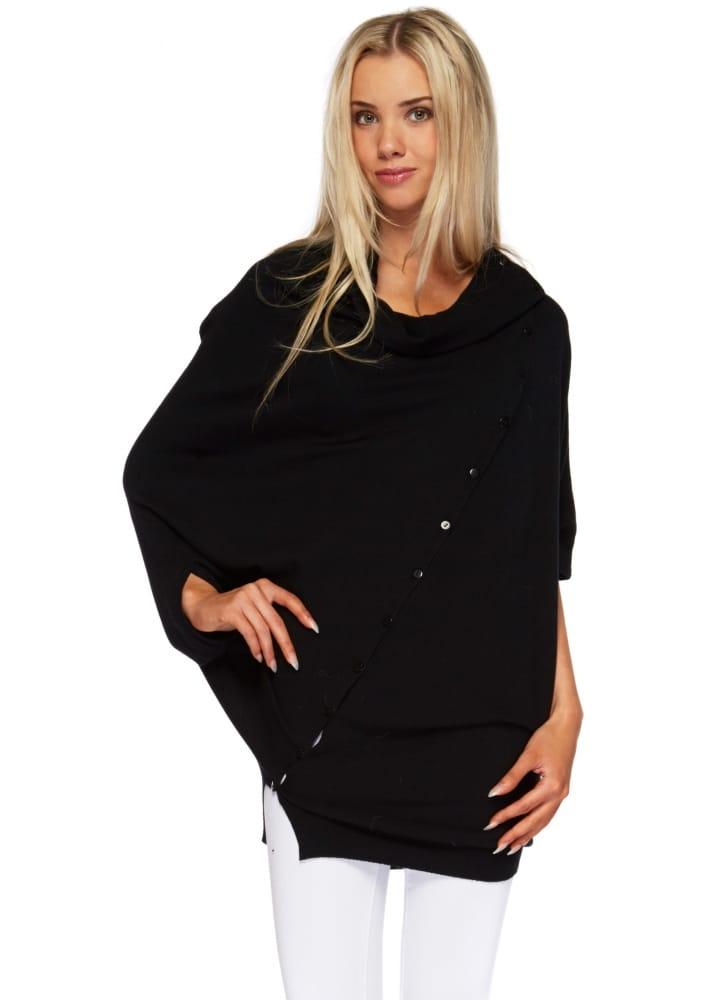 Sugar Babe Jumper Black Cashmere Long Sweater