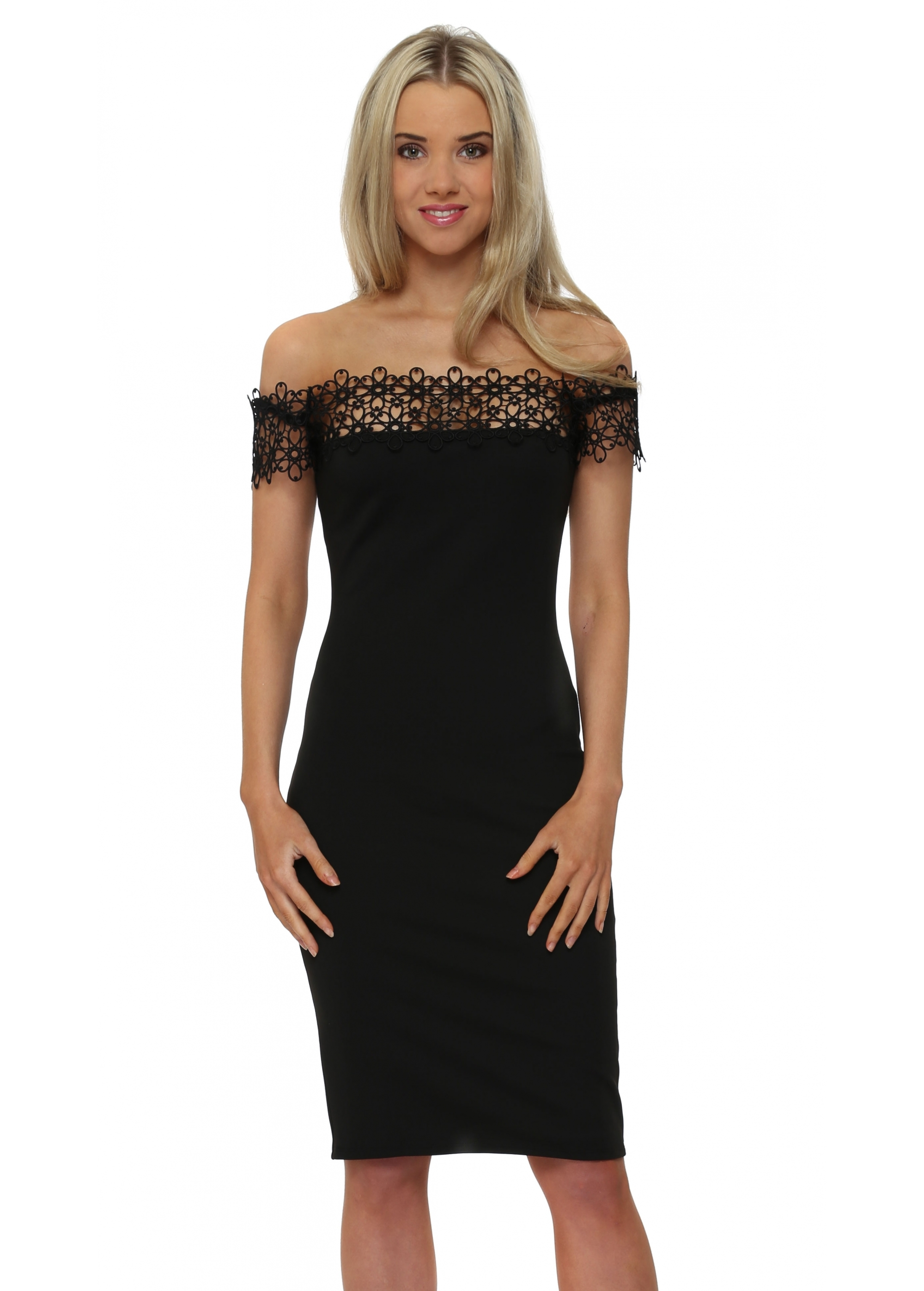 The Little Black Dress Irina Pencil Dress