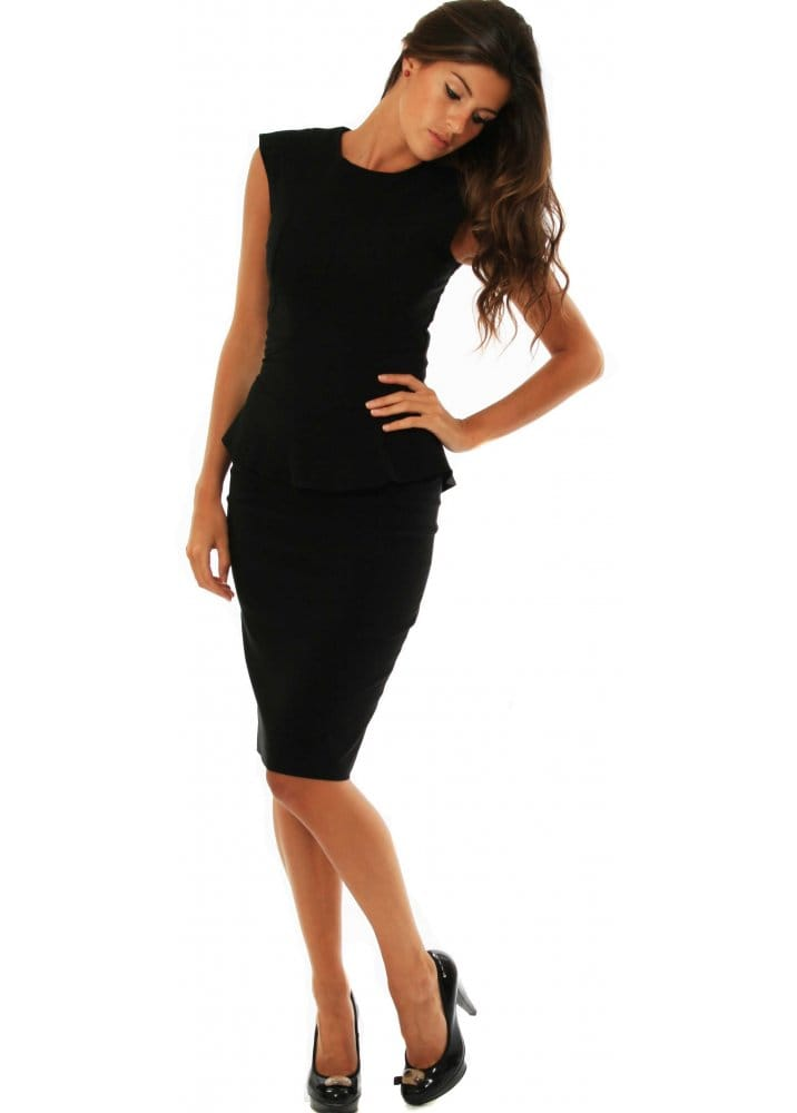 fashion styles new appearance best Diva Dress Va Va Voom Structured Peplum Dress