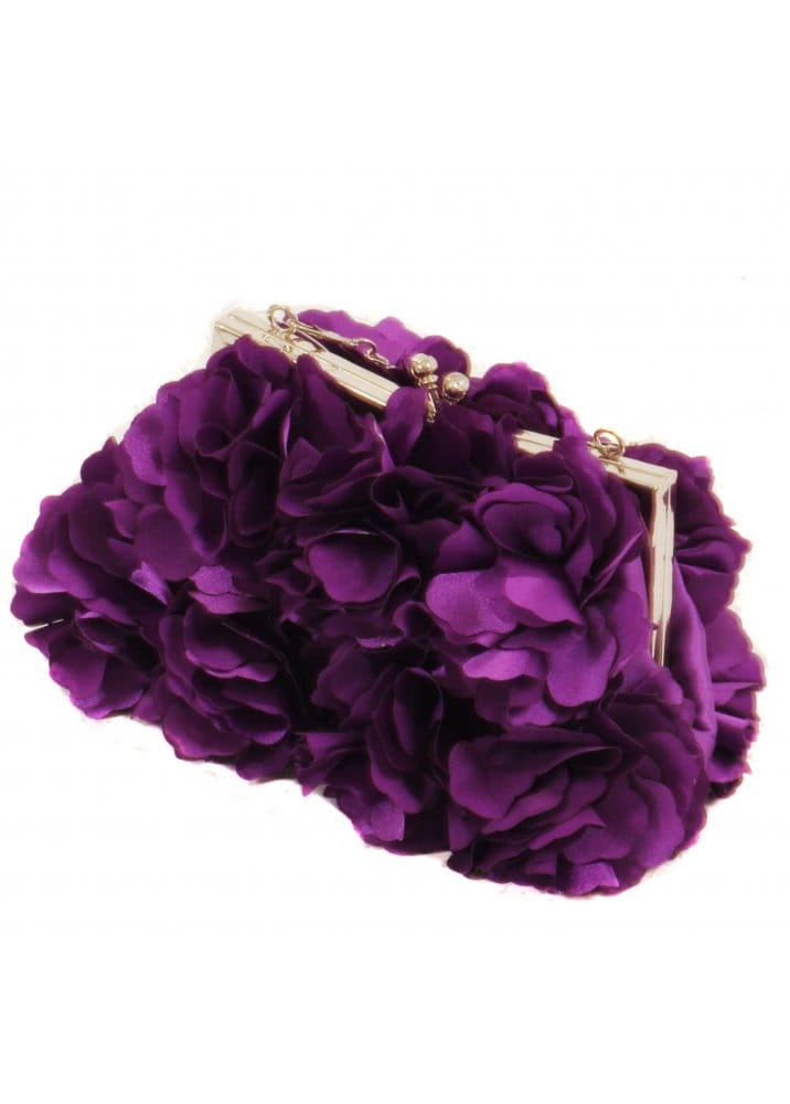 lilac clutch bag designer