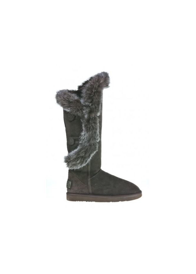 05242bc24ac Australia Luxe Collective Nordic Angel X-Tall Rabbit Fur Trimmed Beva Boots