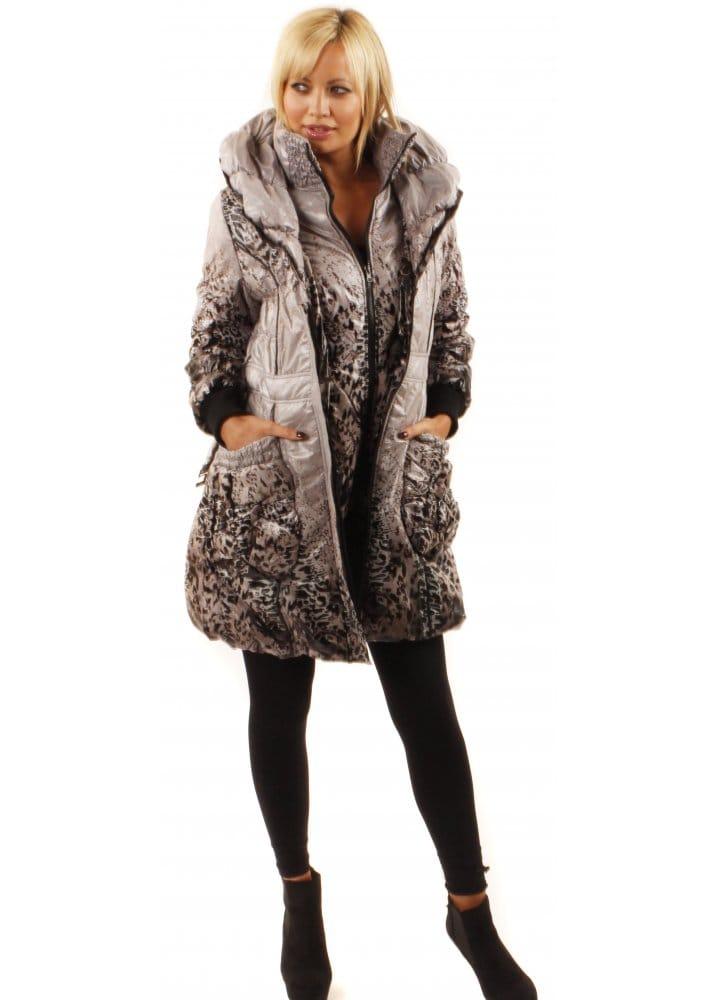 b4208aee4f74 Puffa Coat   Puffa Leopard Print Coat   Designer Puffa Coats