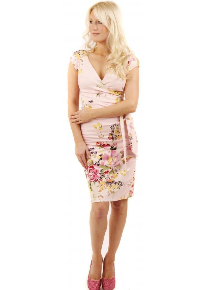 7cd90084623 Rose Seville Retro Hourglass Pencil Dress