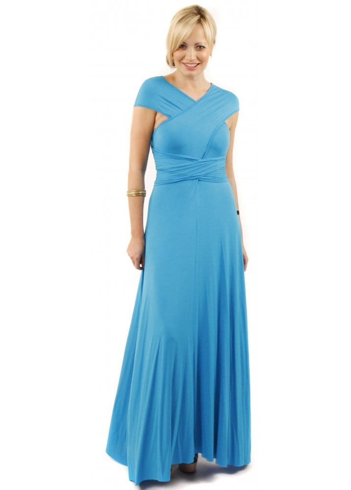 Join Clothes Join Multi Way Maxi Dress Turquoise Maxi