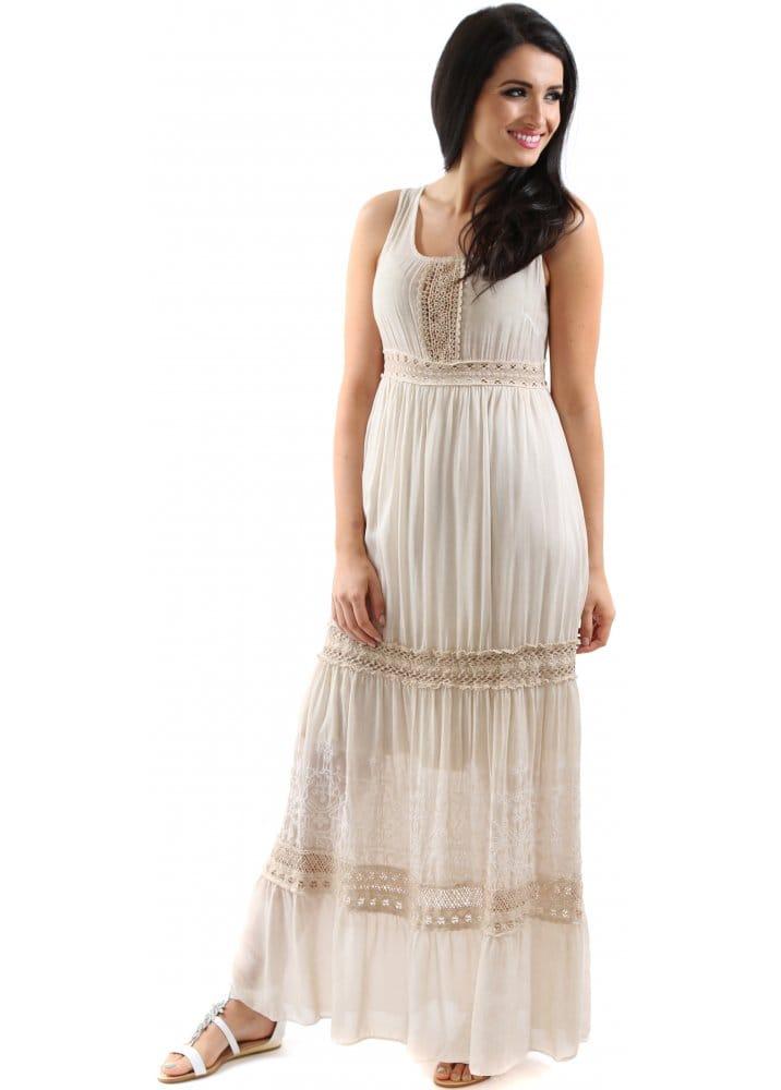 Crochet Summer Maxi Dresses