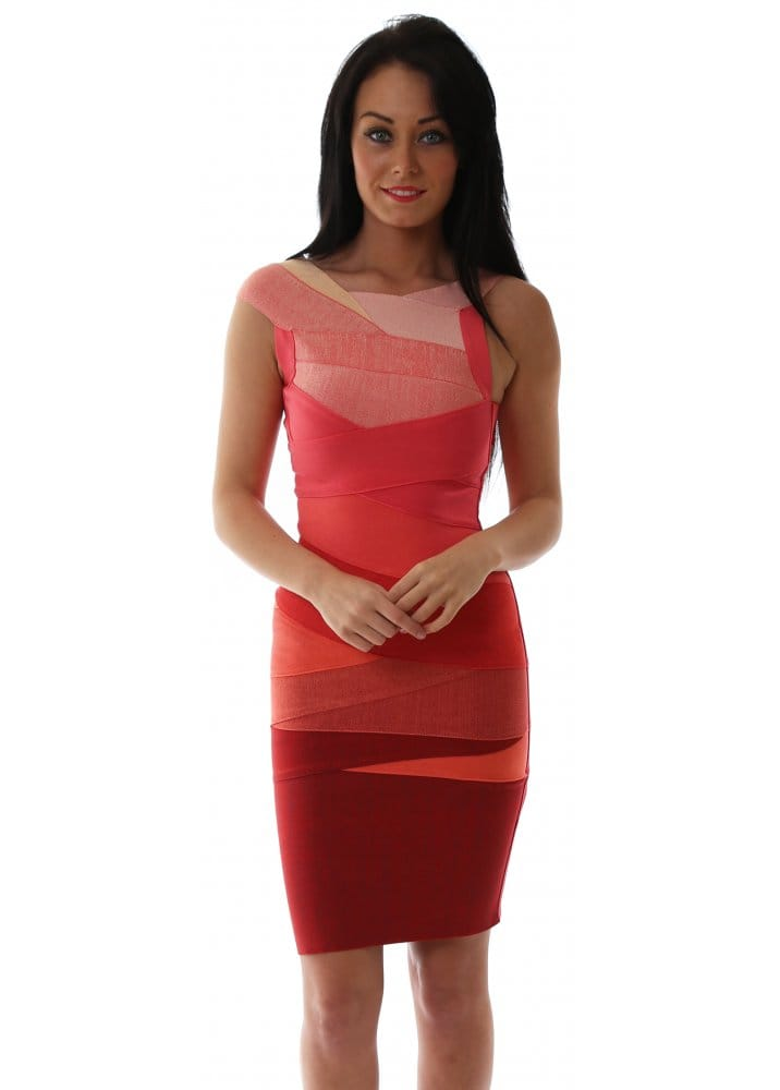 Ombre Bandage Dress