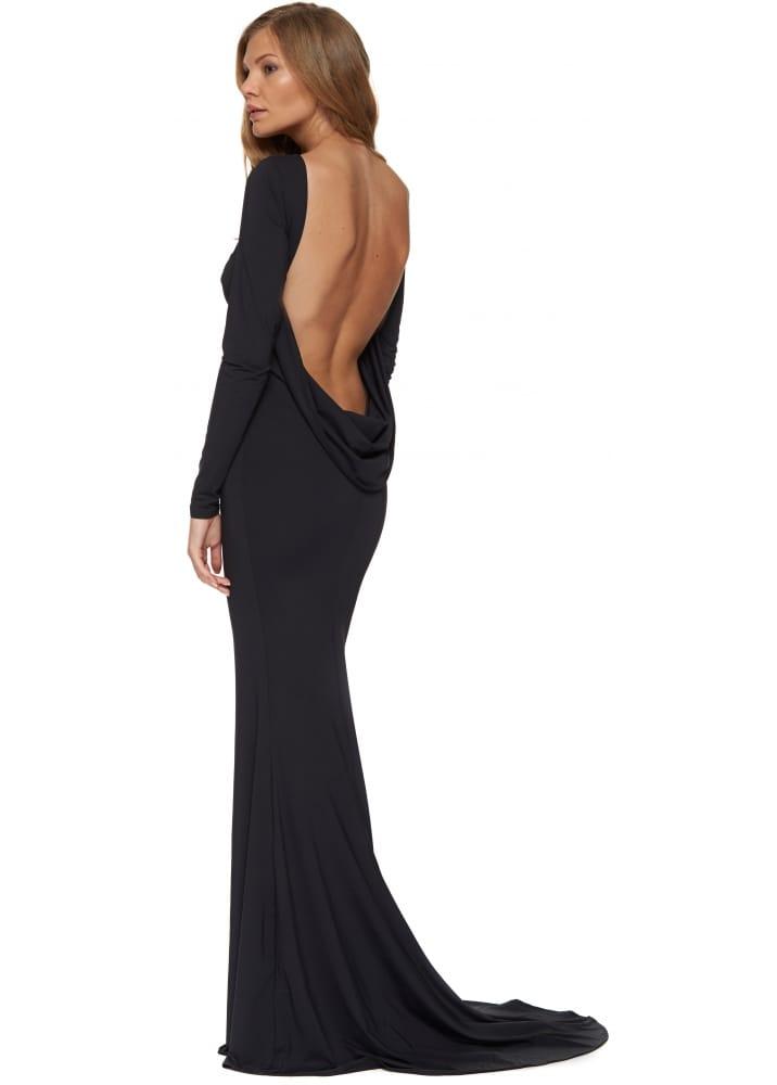 66761c12fd81 Portia & Scarlett Sophia Dress   Black Designer Evening Dress