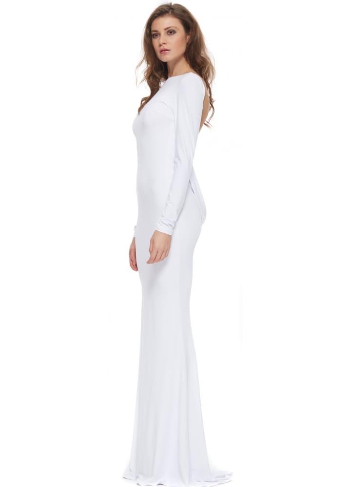 1610d6ded587 Portia & Scarlett White Sophia Dress   White Designer Evening Dress