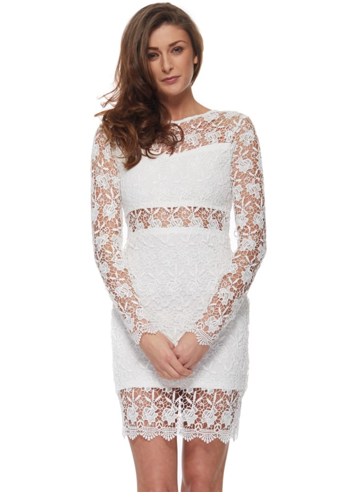 Vera Lucy White Lace Dress White Lace Bodycon Dress Lace Lbd