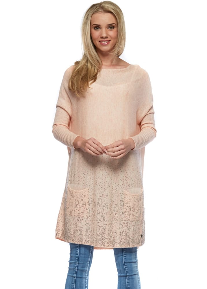 6fc015bff9 Oversized Crystal Blush Jumper Dress