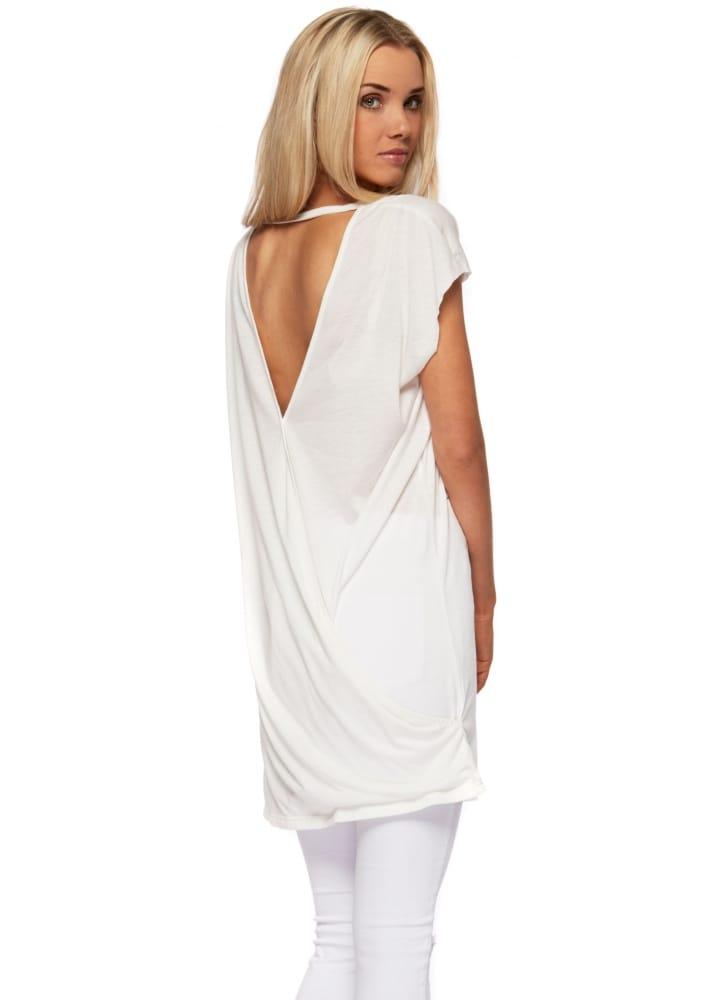 f9fe0e123c Dr Denim | Dr Denim Sina T Shirt Beach Dress With Open Cross Back