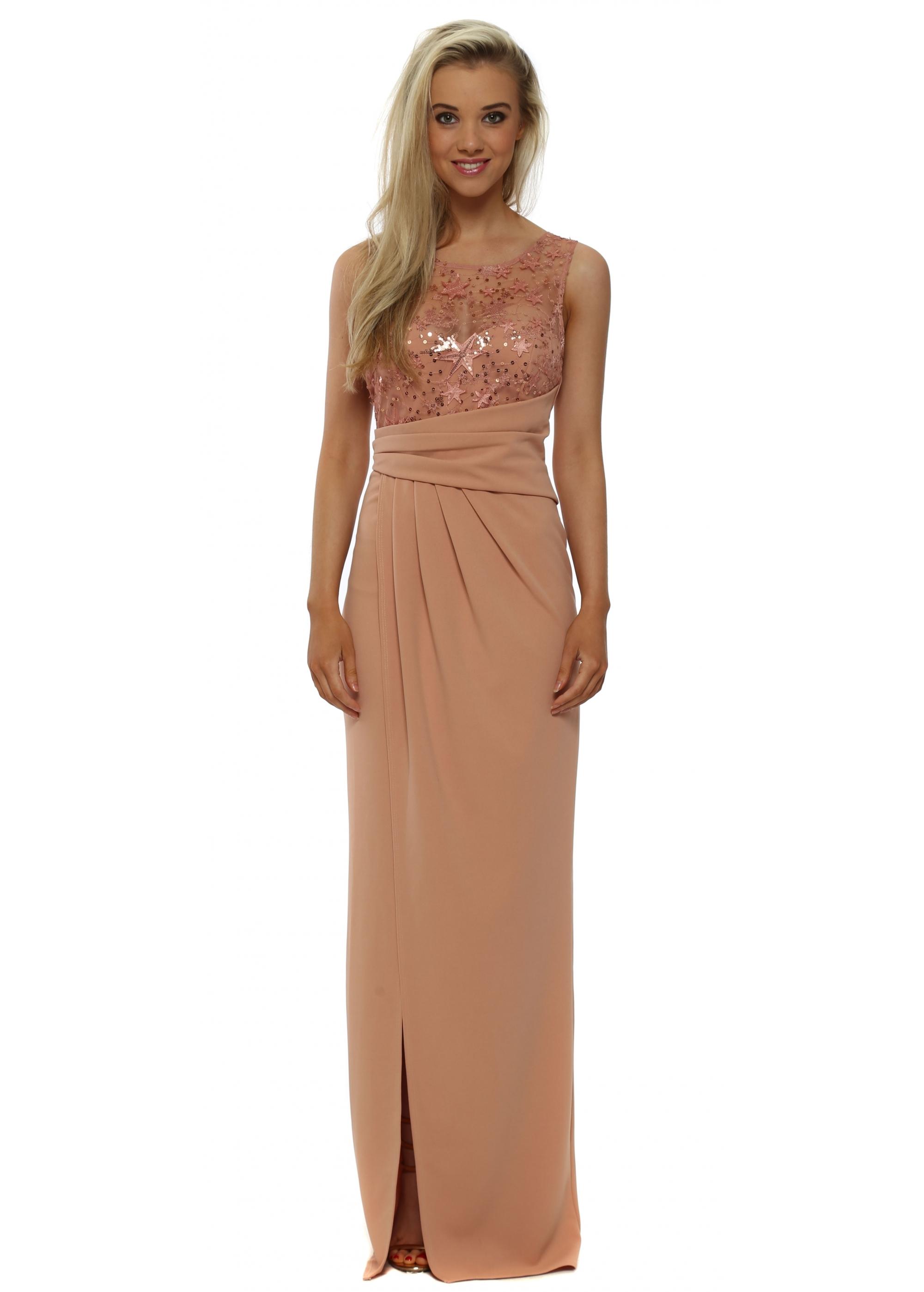 Chiffon Frill Wrap Maxi Bridesmaid Dress | boohoo | Maxi