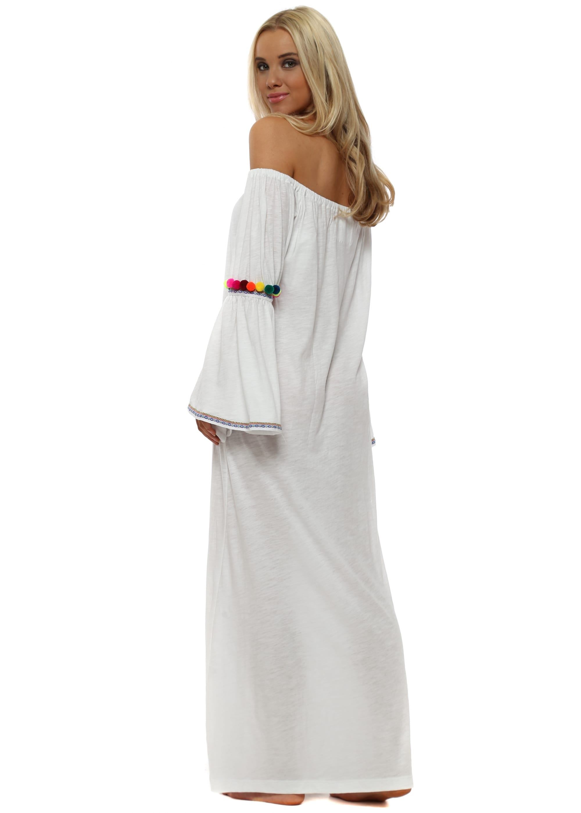 446bdc4996d0 Pitusa Gypsy Dress In White Online Now