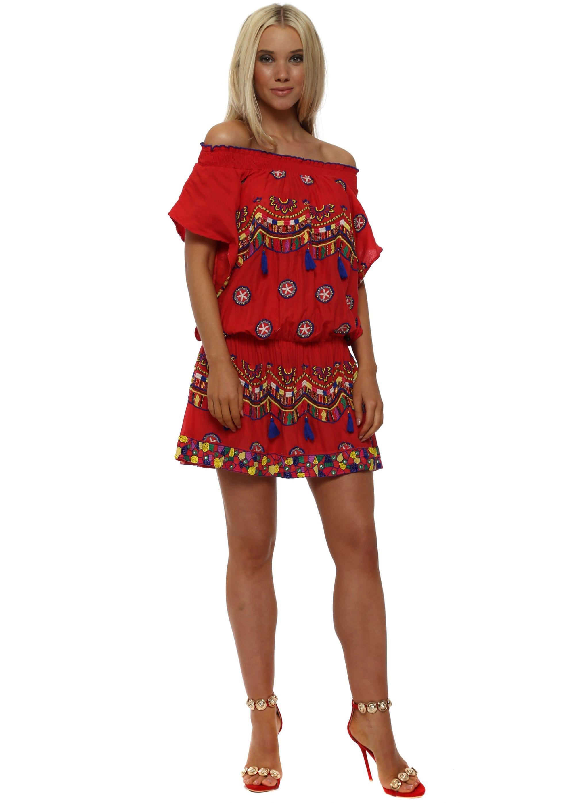Cotton Mini Dress
