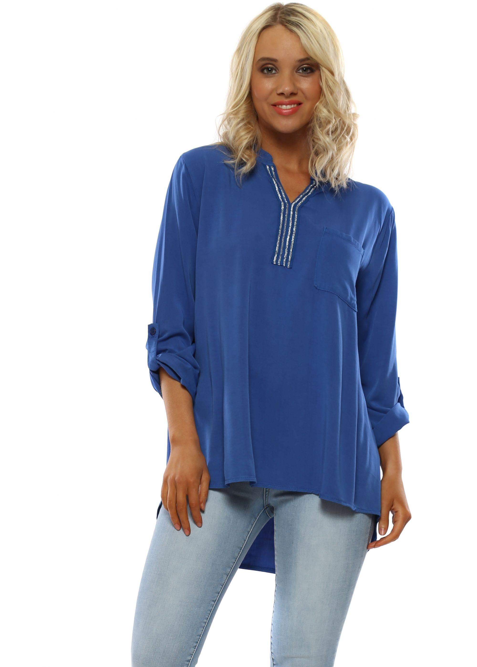 5c0f3e73f11 Blue Tunic Top | Blue Casual Tops | Ladies Top | Designer Desirables