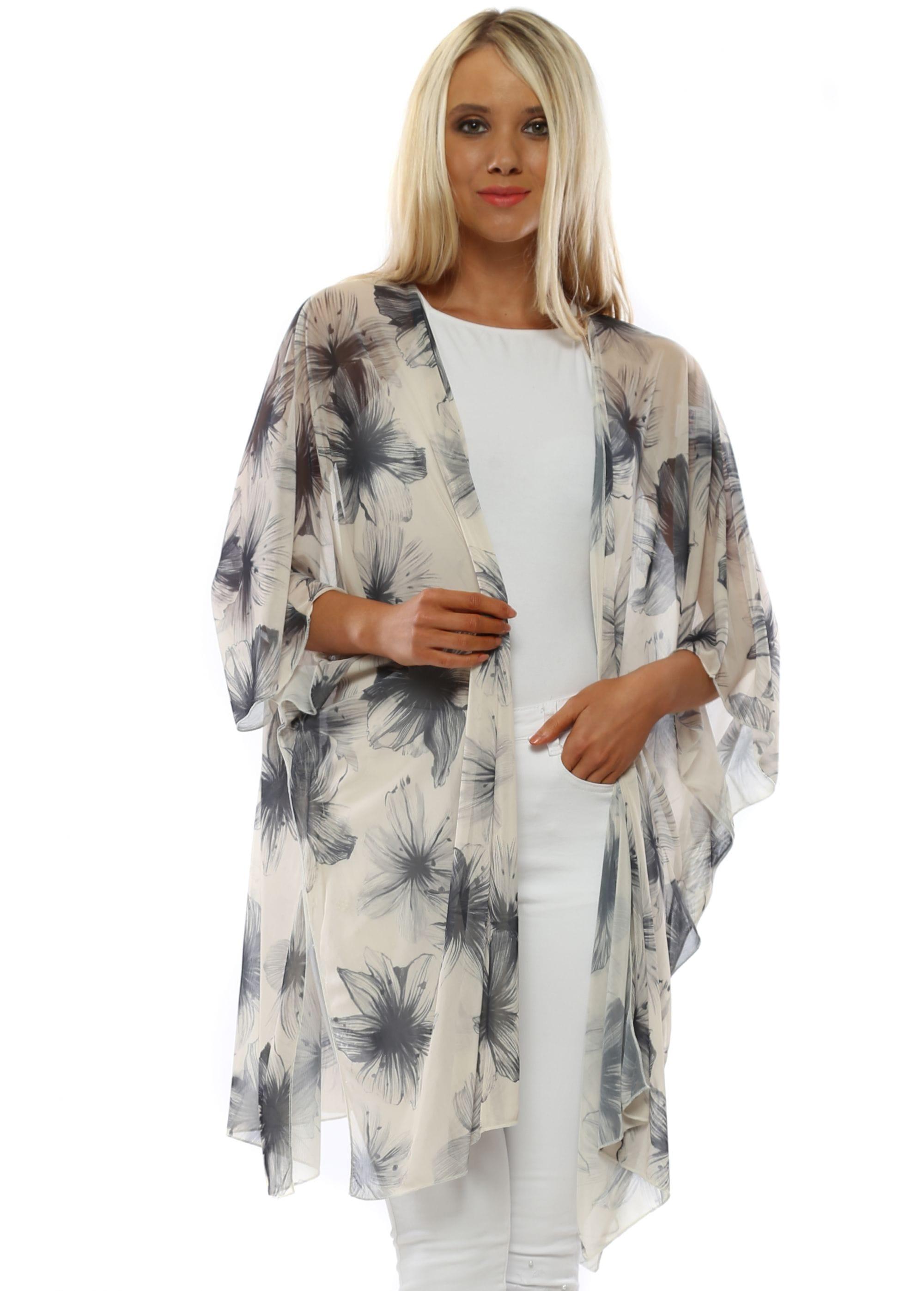 fe870d942 A Postcard From Brighton | Floral Print Kimono | Designer Desirables